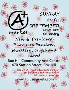 A Plus Market Box Hill flyer