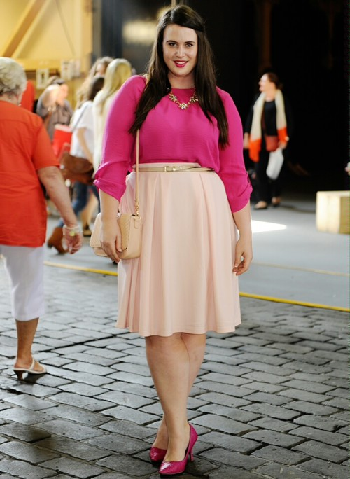 Ashley Rose, Pretty in Pink. Photo by Danimezza