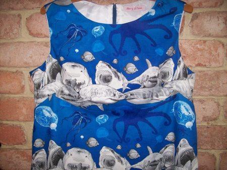 A PLus Market plus size shark dress