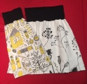 SKIRTS - Yellow & Black & B&W Flowers