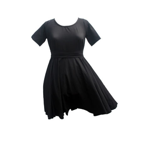 cotton sash dress