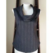 New Grey Vest with Collar-01